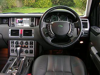 Range Rover - Range Rover interior