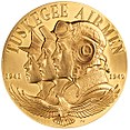 2006 Tuskegee Airmen Congressional Gold Medal front.jpg