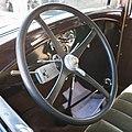 2007-07-15 Lenkrad eines Ford Modell A (1928–1931), Baujahr 1928 IMG 3311.jpg