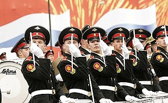 2007 Moscow Victory Day Parade - Image: 2007 Moscow Victory Day Parade 09