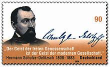 Deutsche Briefmarke (2008) zum 200. Geburtstag
