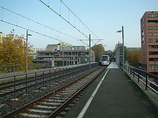 Meerzicht RandstadRail station RandstadRail station