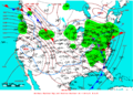 2009-01-07 Surface Weather Map NOAA.png