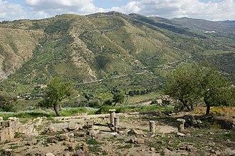 Halaesa - View of Halaesa
