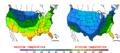 2009-04-03 Color Max-min Temperature Map NOAA.png