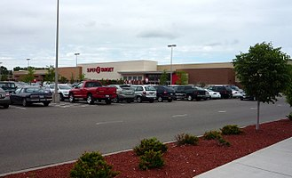 Roseville, Minnesota - This SuperTarget sits on the site of the first Target store, which opened in 1962 and was torn down and replaced by this much larger store in 2005.