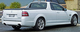 Holden Commodore (VE) - MY10 SV6 Ute