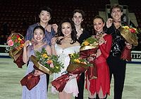 2009 WJC Ice Dancing Podium.jpg
