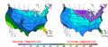 2010-01-31 Color Max-min Temperature Map NOAA.png