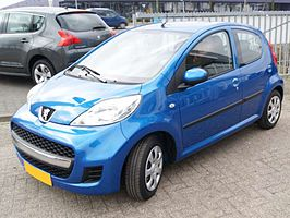 Peugeot 107 Sublime, 5drs, Bj. 2010
