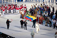 2010 Opening Ceremony - Colombia entering.jpg