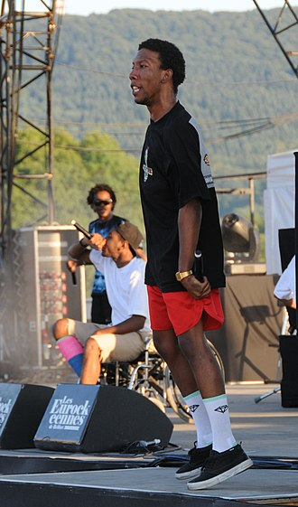 Left Brain - Left Brain performing with Odd Future in July 2011.