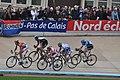 2012 Paris-Roubaix, Maarten Wynants, Mathew Hayman, Luca Paolini, Matthieu Ladagnous, Johan Vansummeren (6919133232).jpg