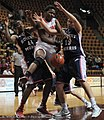 2013 Virginia Tech - Robert Morris - Uju Ugoka fouled.jpg