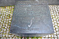 2014-06-02 Leibniz-Denkmal Hannover, Universalgelehrter Gottfried Wilhelm Leibniz, Philosoph Mathematiker Naturwissenschaftler Techniker.JPG