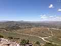"2014-06-13 12 21 02 View west from the summit of ""E"" Mountain in the Elko Hills of Nevada.JPG"