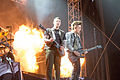 20140615-142-Nova Rock 2014-Avenged Sevenfold-Zack Vengeance and Synyster Gates.JPG