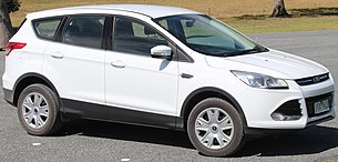 2014 Ford Kuga (TF II MY15) Ambiente EcoBoost 2WD wagon (2014-12-17).jpg