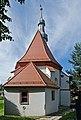 2014 Nysa, Kościół cmentarny Świętego Krzyża 04.JPG