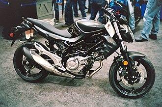 Suzuki SFV650 Gladius - Image: 2014 Suzuki SFV650