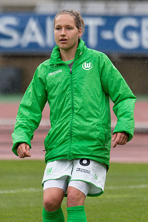 Babett Peter - Peter with VfL Wolfsburg in 2015