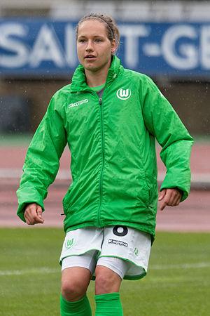 Babett Peter - Peter with VfL Wolfsburg in 2015