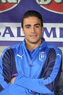 Alessandro Matri Italian football player