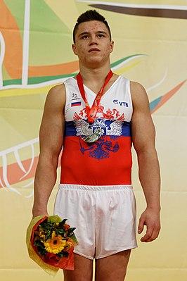 2015 European Artistic Gymnastics Championships - Vault - Medalists 05.jpg
