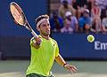 2015 US Open Tennis - Qualies - Guilherme Clezar (BRA) def. Nicolas Almagro (ESP) (12) (20531274433).jpg