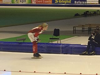 Kali Christ speed skater