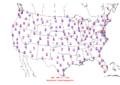 2016-04-23 Max-min Temperature Map NOAA.png