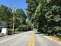 2016-09-13 11 53 39 View west along Maryland State Route 978 (Hall Road) at Maryland State Route 214 (Central Avenue) in Bowie, Prince Georges County, Maryland.jpg