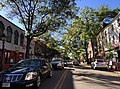 2016-10-09 15 46 54 View west along Virginia State Route 7 (King Street) between Virginia State Route 400 (Washington Street) and Columbus Street in Alexandria, Virginia.jpg