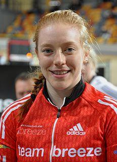 Emily Nelson British cyclist