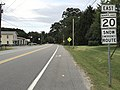 2017-08-11 18 39 23 View east along Maryland State Route 20 (Rock Hall Road) at Maryland State Route 288 (Crosby Road) in Sharpstown, Kent County, Maryland.jpg