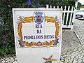 2017-11-25 Street name sign, Rua da Pedra dos Bicos, Albufeira.JPG