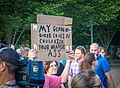2017.07.26 Protest Trans Military Ban, White House, Washington DC USA 7620 (35354033774).jpg