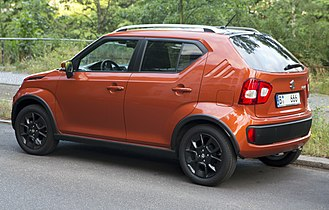 Suzuki Ignis - Rear view of 2017 Suzuki Ignis (Germany)