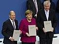 2018-03-12 Unterzeichnung des Koalitionsvertrages der 19. Wahlperiode des Bundestages by Sandro Halank–055.jpg
