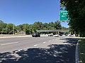 2018-07-19 12 07 32 View north along New Jersey State Route 17 at the exit for Sheridan Avenue (Waldwick, Ho-Ho-Kus) in Waldwick, Bergen County, New Jersey.jpg