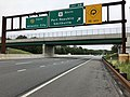 2018-09-11 13 51 59 View south along New Jersey State Route 444 (Garden State Parkway) at Exit 48 (U.S. Route 9 SOUTH, Port Republic, Smithville) in Port Republic, Atlantic County, New Jersey.jpg