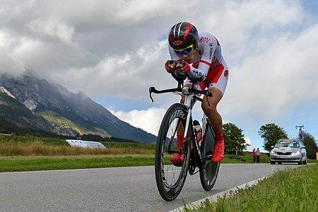 20180924 UCI Road World Championships Innsbruck Men U23 ITT Shoi Matusuda 850 7816.jpg