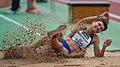 2018 DM Leichtathletik - Dreisprung Frauen - Stefanie Aeschlimann - by 2eight - DSC6781.jpg