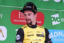 2018 Tour of Britain stage 8 - race third place Primoz Roglic.JPG
