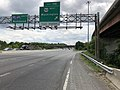 2019-05-27 13 21 47 View south along the inner loop of the Capital Beltway (Interstate 95 and Interstate 495) at Exit 19B (U.S. Route 50 West, Washington) in Lanham, Prince George's County, Maryland.jpg