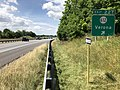 2019-06-06 10 58 51 View south along Interstate 81 at Exit 227 (Virginia State Route 612, Verona) in Verona, Augusta County, Virginia.jpg