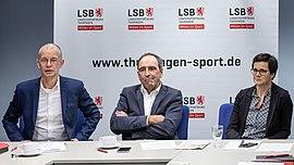 2019-12-11 Jahrespressekonferenz des Landessportbundes (LSB) Thüringen IMG 0340 LR10 by Stepro