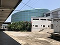 201908 Xichangnan Station Building from Platform.jpg