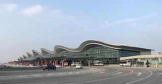 Hangzhou Xiaoshan International Airport international airport serving Hangzhou, China