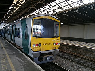 IE 2700 and 2750 Classes - 2722 at Limerick